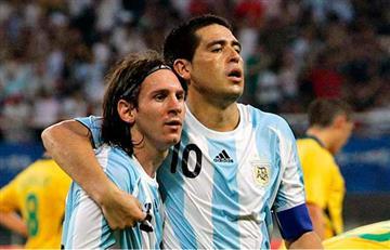 "Riquelme: ""Si Messi no se lesiona, Argentina es campeón de la Copa América"""
