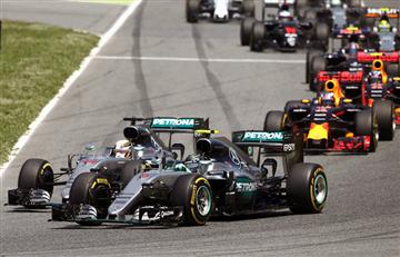 F1: una tensa relación entre Rosberg y Hamilton
