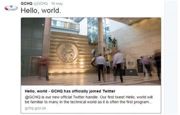 Twitter: Espionaje británico ya tiene cuenta