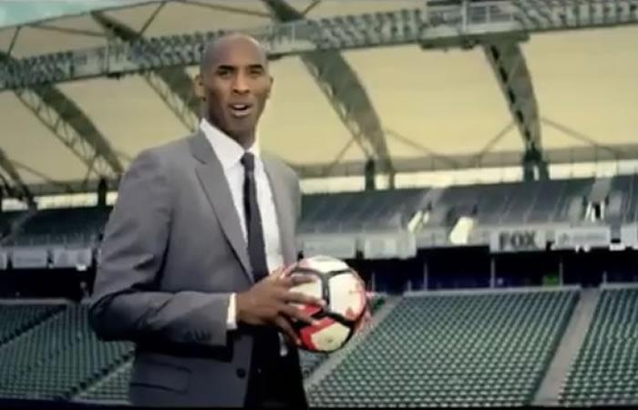 Kobe Bryant invita al continente a ver la Copa América. Foto: Twitter