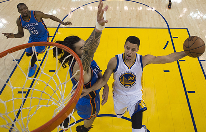 NBA: Los Golden Warriors igualan la serie