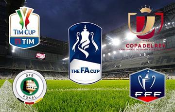 Cuatro finales se juegan este fin de semana en Europa