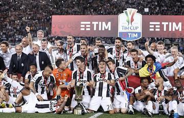 El Juventus de Cuadrado le da un nuevo título a su afición