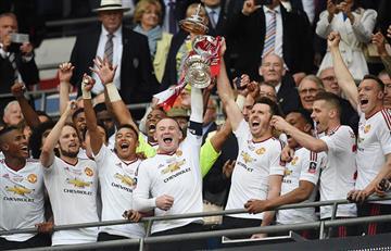Manchester United campeón de la FA Cup
