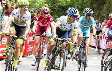 Giro de Italia: Esteban Chaves escala a la segunda posición en la general