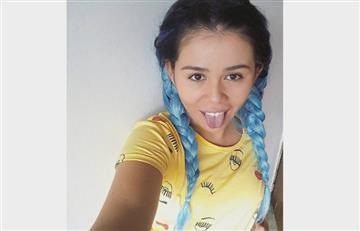 Yina Calderón y su homenaje a Dragon Ball