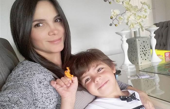 Mabel Cartagena compartió foto de su segundo hijo en redes