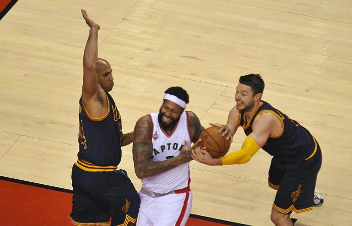 NBA: Raptors le empata a los Cleveland