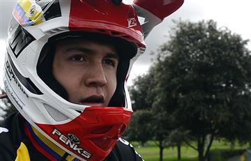 Mundial BMX: Santiago Suárez un joven que promete