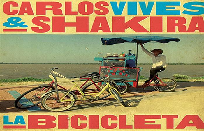 Carlos Vives y Shakira presentaron 'La Bicicleta'