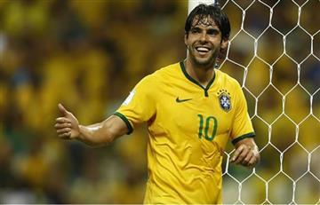 Kaká fue convocado a Brasil en vez de Douglas Costa