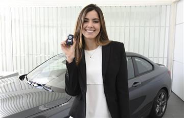 Paulina Vega embajadora nacional de BMW
