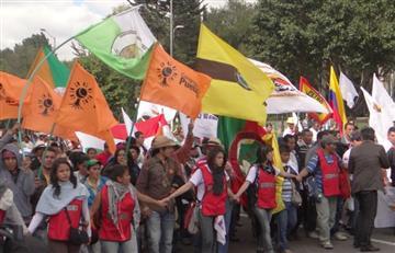 Colombia vivirá protestas de organizaciones agrarias