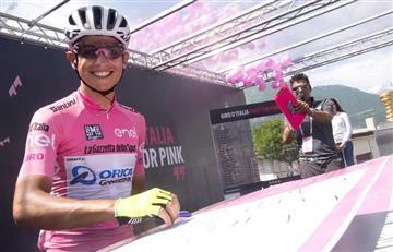 Esteban Chaves subcampeón del Giro de Italia
