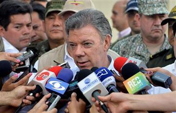 """Santos: """"Vamos a apoyar y proteger Catatumbo de grupos criminales violentos"""""""