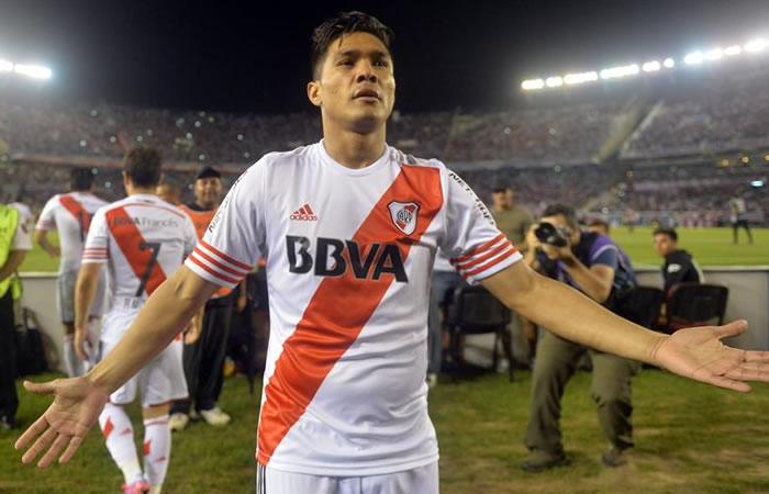 Teófilo Gutiérrez volvería a River Plate. Foto: EFE