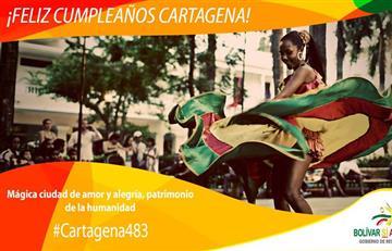 Cartagena cumple 483 años de fundación y así se celebra