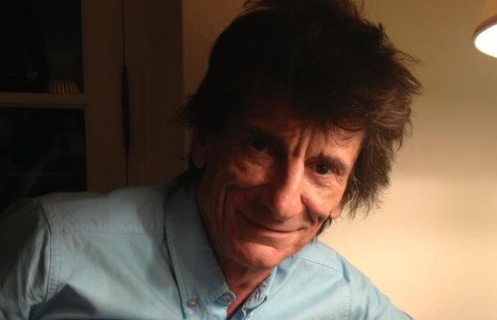 Ronnie Wood, padre de gemelas a los 68 años