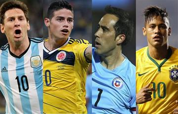 Copa América Centenario: cinco selecciones en el top 10 de la FIFA