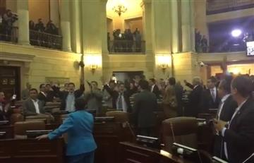 Santos celebró la aprobación del acto legislativo para la paz