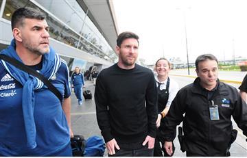 Copa América 2016: Messi ya está con la Selección Argentina