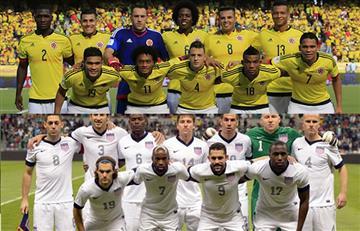 Estados Unidos vs Colombia: alineaciones confirmadas para el debut