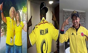 Famosos: Así viven la fiesta de la Selección Colombia estas celebridades