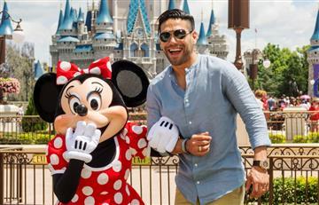 FOTOS: Falcao en Disney