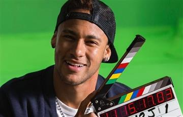 Neymar llegó a Hollywood