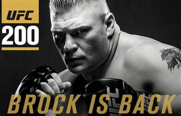 Brock Lesnar vuelve a la UFC