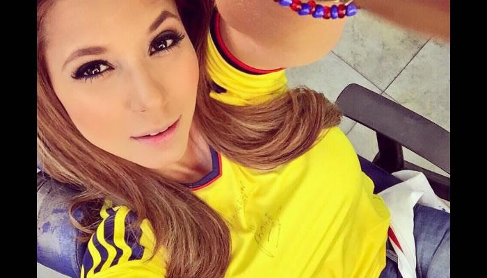 Copa América 2016: Periodista colombiana que se roba las miradas