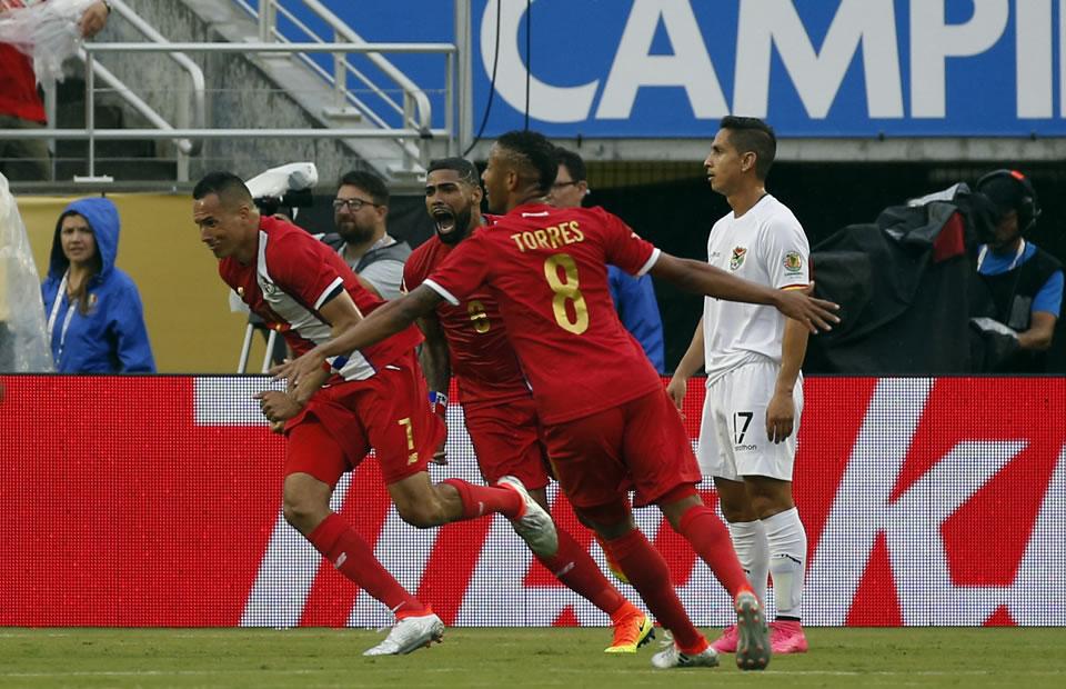 Panamá vs Bolivia en imágenes. Foto: EFE