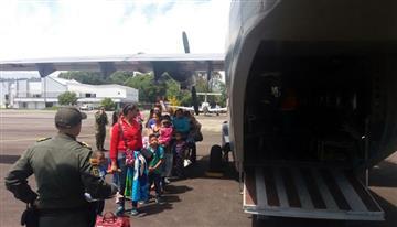 Paro Agrario: En helicóptero llevanayudas a zonas afectadas