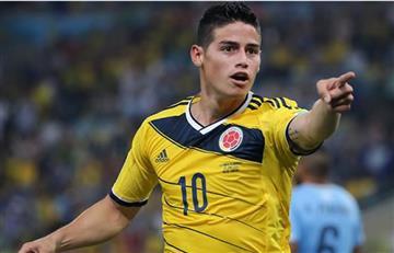 Selección Colombia: James Rodríguez tiene el alta médica para jugar