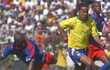 Brasil vs Haití un juego con muchas historia