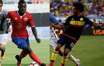 Copa América 2016: confunden a Campbell con Cuadrado