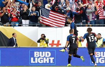 Estados Unidos goleó y se desquitó con Costa Rica