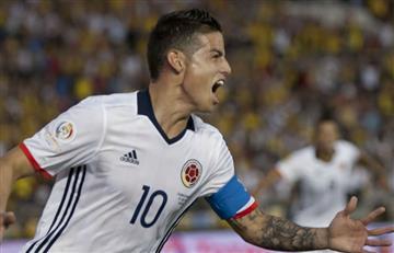"""James Rodríguez: """"Yo aquí juego hasta cojo"""""""