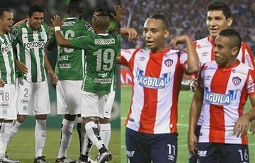 Junior vs. Atlético Nacional: previa, datos y transmisión