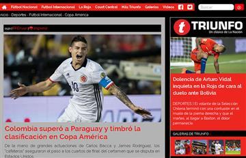 Medios del mundo titularon la victoria de Colombia así: