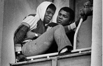 Muhammad Ali cuando salvó a una persona de arrojarse de un noveno piso