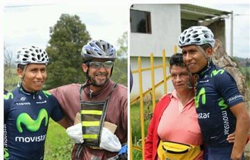 Video: Nairo Quintana comparte con su gente en Boyacá