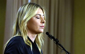 Sharapova suspendida dos años por dopaje