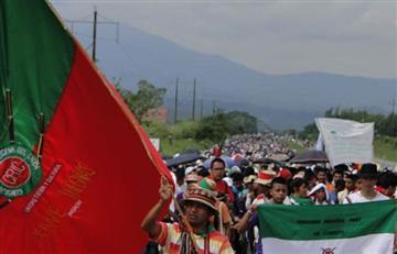 """Sólo habrá un """"cordón humanitario"""" aclaran indígenas del Cauca"""