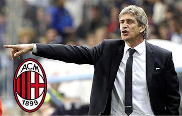Manuel Pellegrini podría llegar al AC Milan