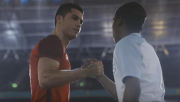 Nike: Cristiano Ronaldo es el nuevo recogepelotas