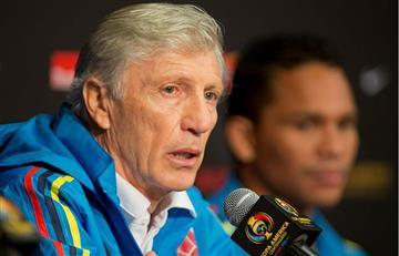 """José Pékerman: """"Vamos a refrescar la nómina ante Costa Rica"""""""