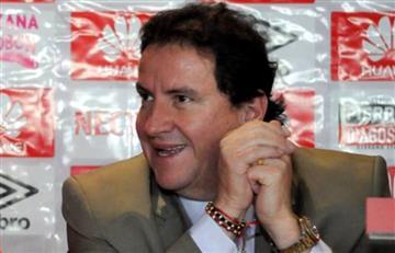 César Pastrana anunció su salida de Santa Fe