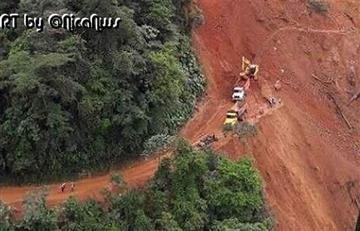 Se confirman más víctimas por alud en el Chocó
