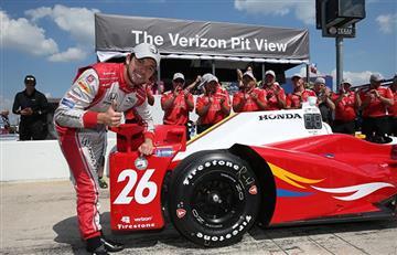 Bogotano Muñoz, logra la Pole en la IndyCar